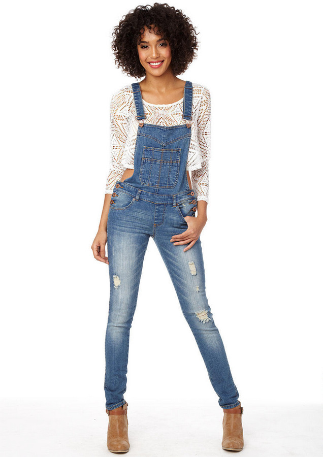 Alloy-Deconstructed-Plus-Size-Denim-Overalls
