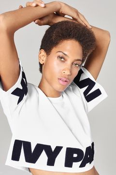Logo Cropped Tee by Ivy Park $42.00