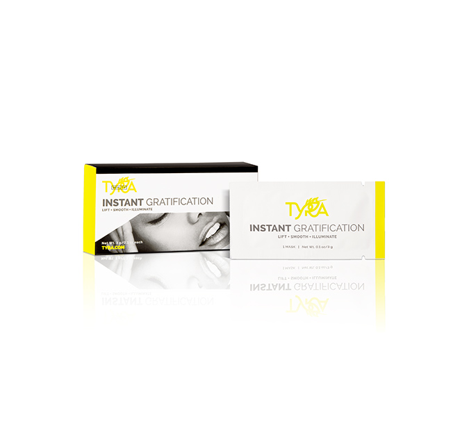 Tyra Beauty Instant Gratification Lift + Smooth + Illuminate Mask, $49; tyra.com